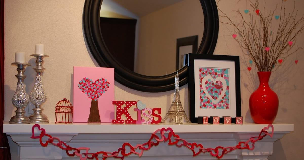 Pinkie for pink valentine 39 s day decor for Room decor valentines