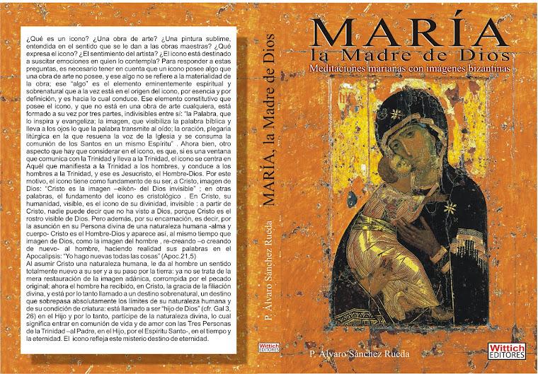 Tapa y contratapa de María, la Madre de Dios