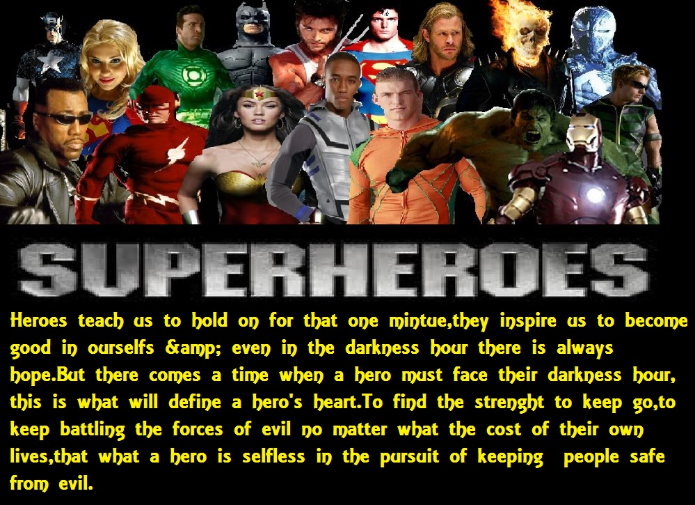 The Legend of superheroes