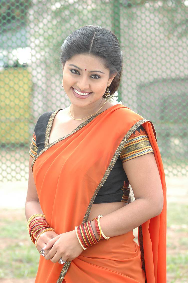 sneha in orange saree - sneha Photo Gallery in Orange saree