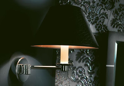 Berikut contoh lampu dinding modern :
