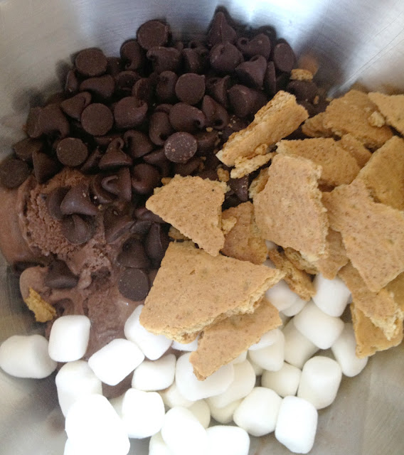 Brain freeze s'mores popsicles ingredients