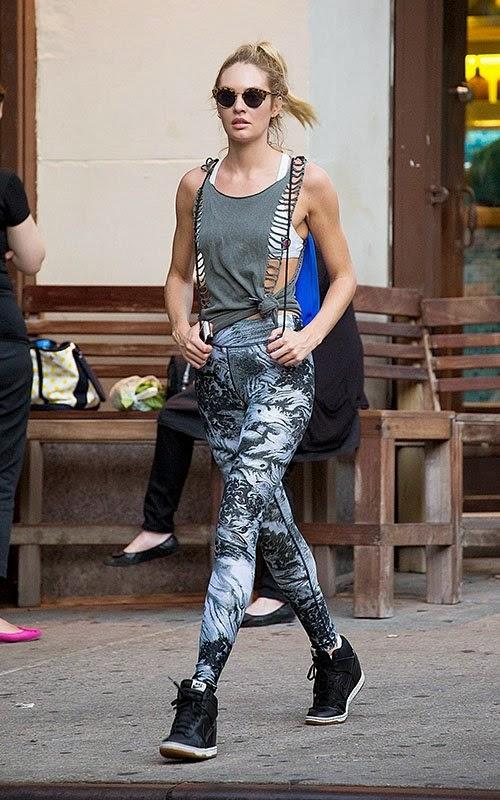 แฟชั่นผู้หญิง การแต่งตัวผู้หญิงเก๋ๆ แฟชั่นไอคอน Candice Swanepoel