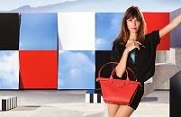 LONGCHAMP X Alexa Chung SS2015 Ad Campaign