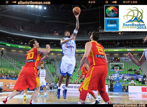EuroBasket 2013: Greece stuns Marc Gasol's Spain