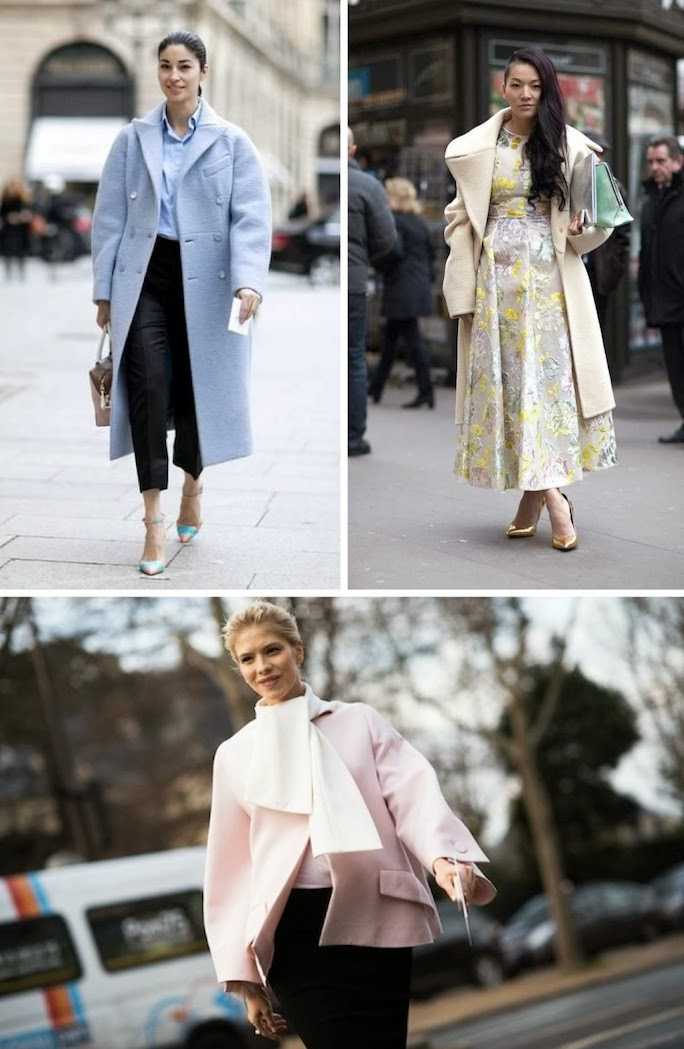 pastel coats_street style_paris fashion week