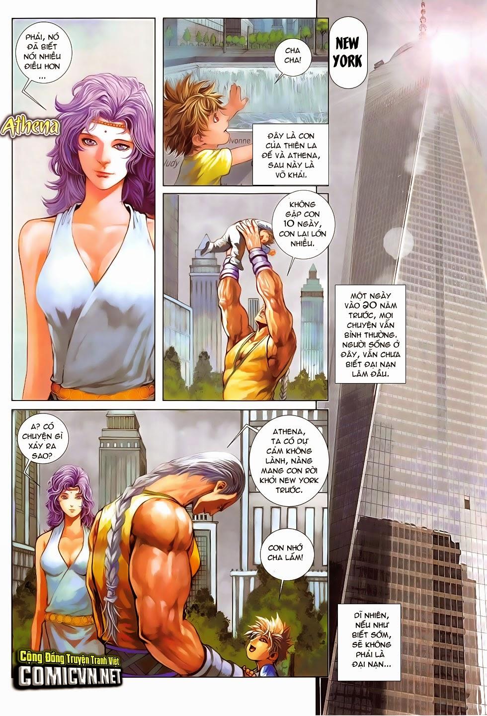 Ba Động Quyền Z Hadouken Zero chap 15 - Trang 5