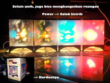 Lampu Proyeksi Cinta