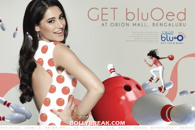 Nargis Fakhri on Print Ad of  Blu O Bengaluru - (4) - Nargis Fakhri Blu O Bengaluru Wallpapers