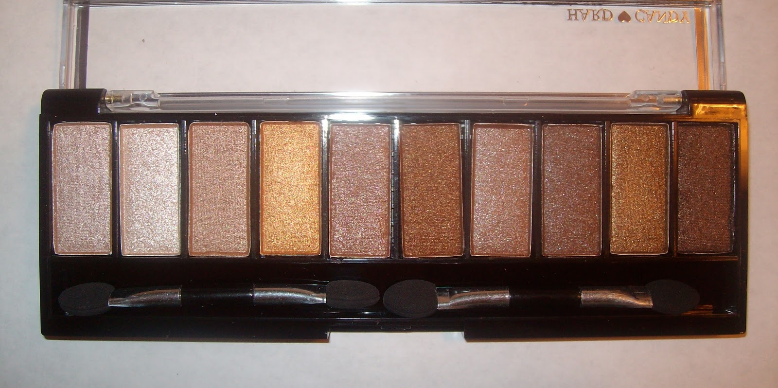 Shades Of Neutral Me Hard Candy Top Ten Eye Shadow Collection In