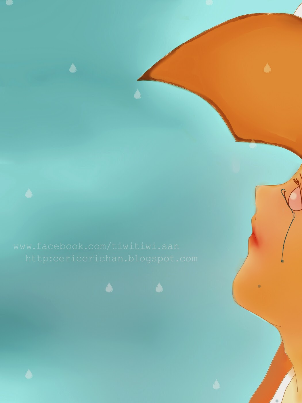 paint tool SAI, boy, man, cry,blue, sky, wallpaper