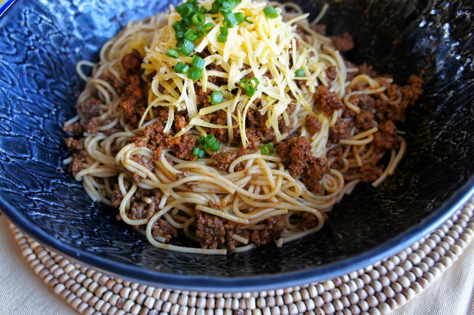 Pasta de los Vaqueros - Mexican Cowboy Spaghetti #BarillaFiesta
