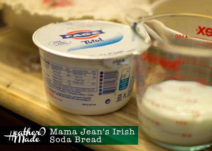 Irish Soda Bread recipe. heatheromade. st. patricks day. st pattys day