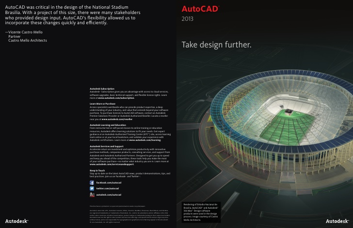 Autodesk AutoCAD 2013 Free Download 64Bit