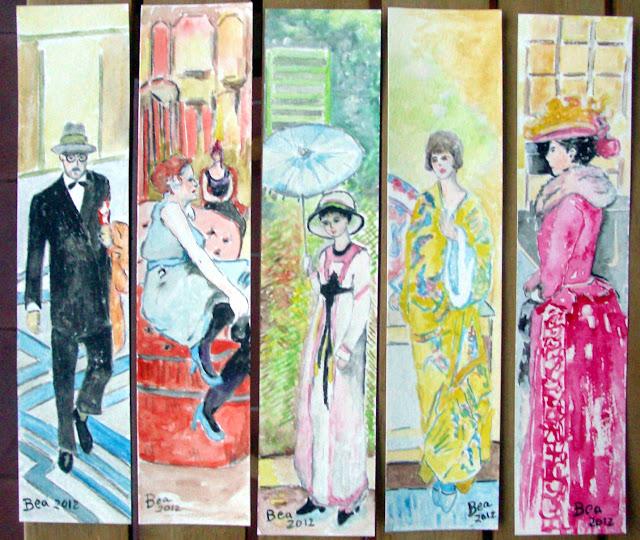 Marcadores de Livros  Toulouse Lautrec e Fredrerick Freiseke