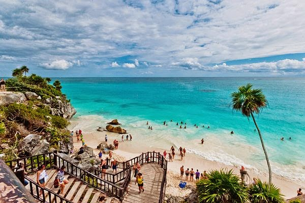 beach, tulum beach, spring backgrounds, computer backgrounds, holiday,
