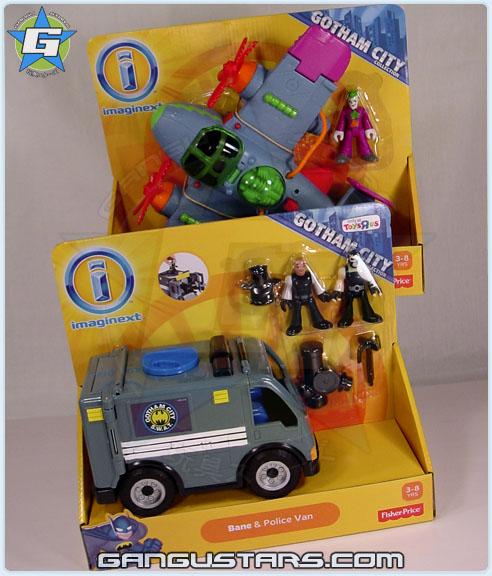 DC comics Super Friends Toys R Us Imaginext Joker Plane Bane Van Fisher-Price アメコミ イマジネックスト