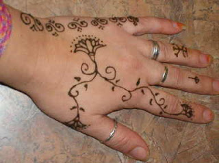 Henna Hand Tattoo Design Photo Gallery - Henna Hand Tattoo Ideas