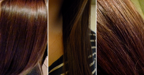 J 39 ai d cid de devenir brune en 20 minutes le blog de laura - Comment enlever une coloration ...