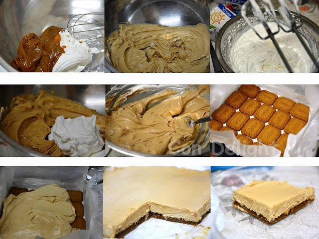 צעד צעד עוגת ריבת חלב step by tep dulce de leche cake