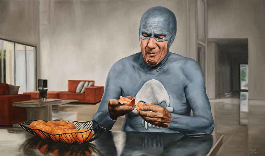 18-Andreas-Englund-Paintings-of-the-Unglamorous-Side-of-a-Superhero-www-designstack-co