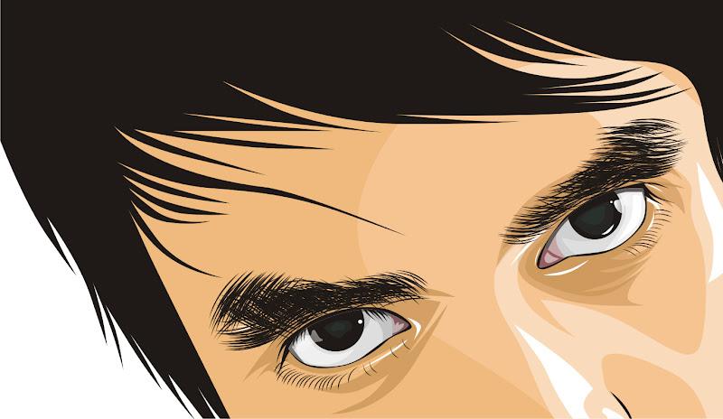 Dua Mata Saya Membuat Gambar Vektor | Menggambar Vektor