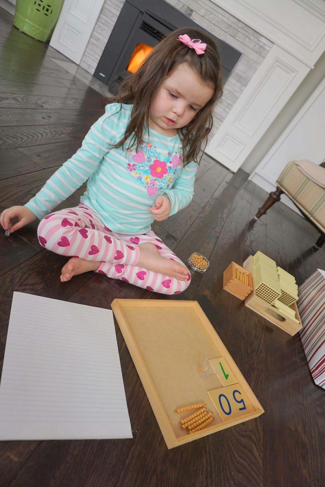 Makingmontessoriours.blogspot on Making Montessori Ours Education Printables Bead
