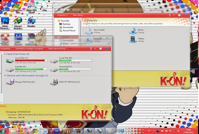 K-On  [ Theme Win 7 ] 1