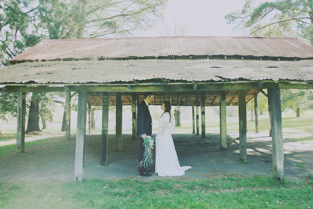 kyneton wedding botanic gardens vintage photography