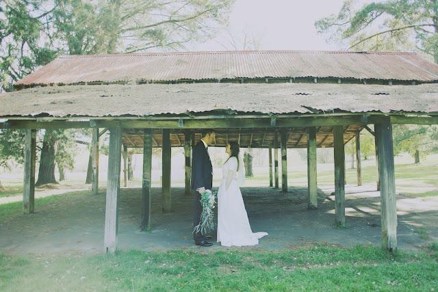kyneton wedding botanic gardens vintage photography