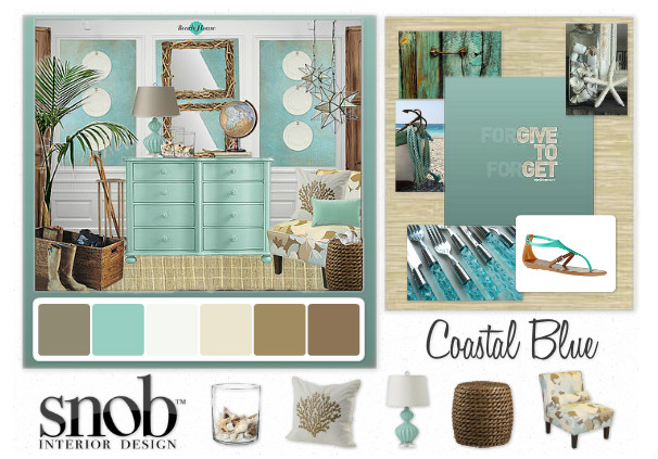 Tropical Inspired Mood Boards You Can Create Yourself!