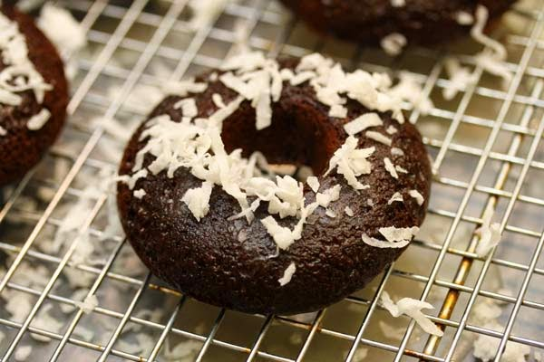 coconut-on-doughnut
