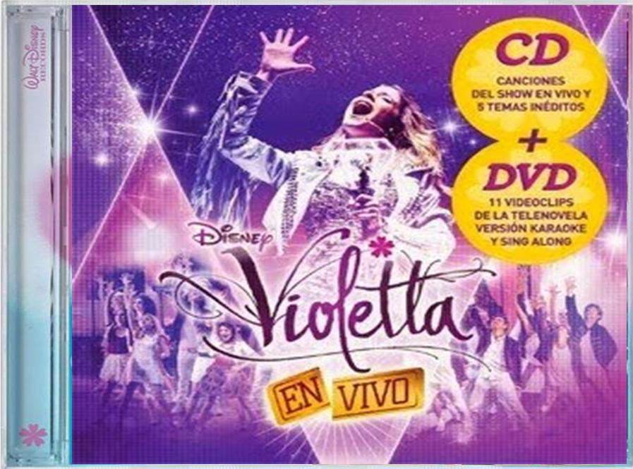 violetta en vivo cd y dvd descargar