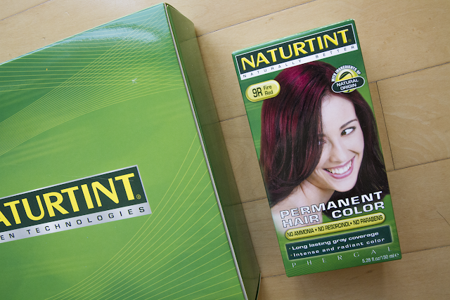 Photo of Naturtint 9R Fire Red hair dye