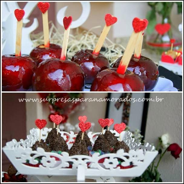 doces românticos