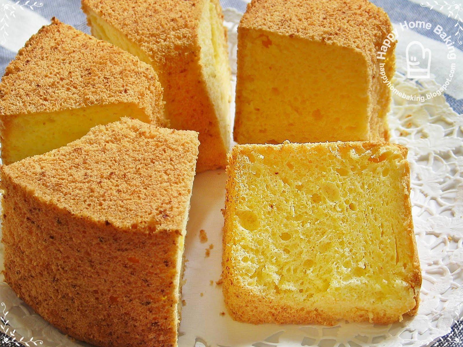 Tofu chiffon cake recipe