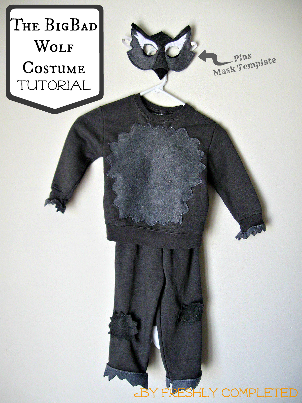 Freshly completed the big bad wolf costume tutorial the big bad wolf costume tutorial solutioingenieria Images