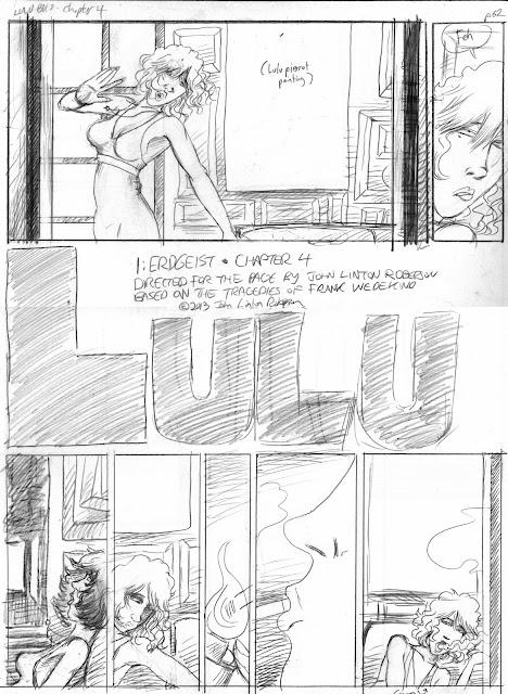 LULU p. 62 pencils ©2013 John Linton Roberson.