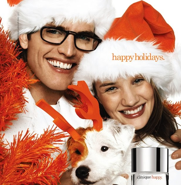 The Terrier and Lobster: Clinique Happy Ads