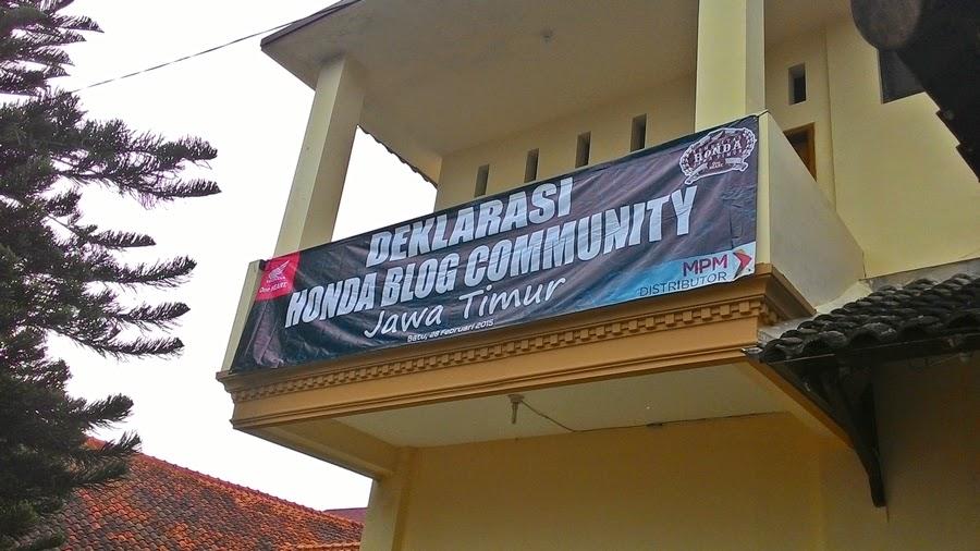 Deklarasi Honda Blog Community Jawa Timur