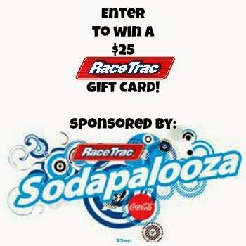 #ad Enter to win a $25 RaceTrac gift card! #SodapaloozaFREEfill
