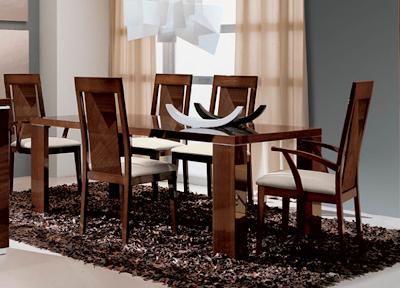 Decoracion modernos comedores kitchen design luxury homes for Comedores en madera pequea os