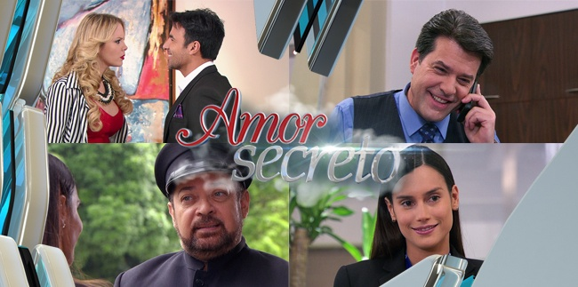 Amor Secreto capitulo 126 Martes 15 de Diciembre del 2015