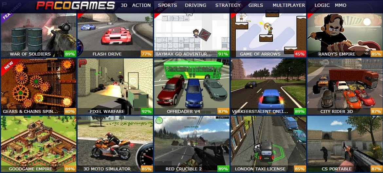 3 d online games