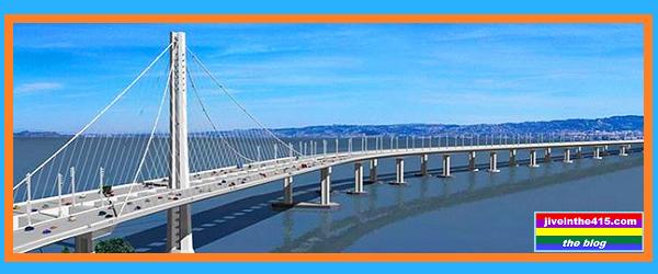 San Francisco Oakland Bay Bridge New Eastern Span Rendering