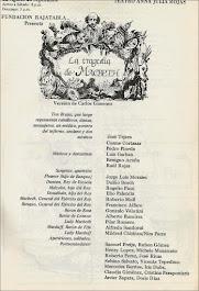 LA TRAGEDIA DE MACBETH, de Shakespeare, versión y dirección Carlos Giménez