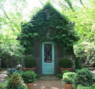 Garden Potting Sheds - cottage garden sheds