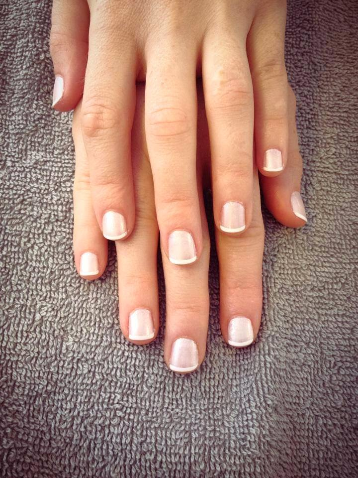 Diner en Blanc: Classic French Manicure by Noktivo Spa | all dressed up with nothing to drink...