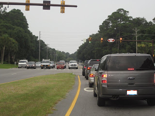 Traffic on Hilton Head