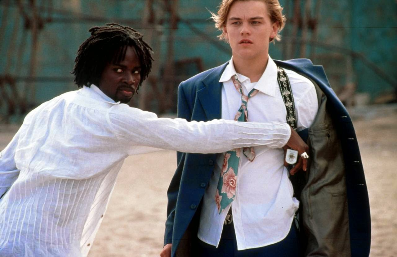 romeo and juliet-harold perrineau-leonardo dicaprio
